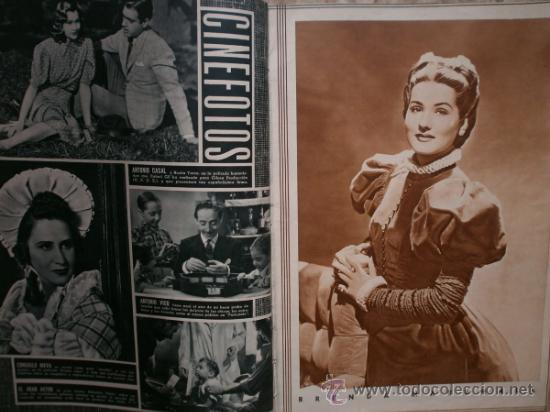 Cine: CAMARA Nº5.1942.IMPERIO ARGENTINA,G.GARBO,M.DIETRICH,C. LOMBARD, G. MONTGOMERY, G. ROGERS, G. COOPER - Foto 5 - 36250943