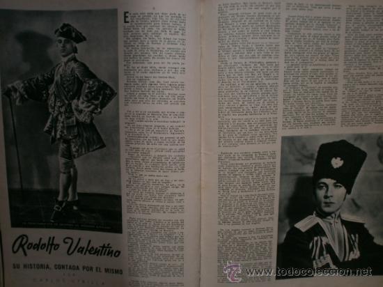 Cine: CAMARA Nº5.1942.IMPERIO ARGENTINA,G.GARBO,M.DIETRICH,C. LOMBARD, G. MONTGOMERY, G. ROGERS, G. COOPER - Foto 9 - 36250943