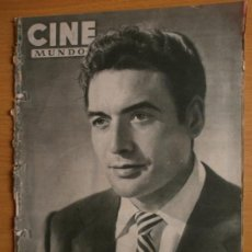Cine: CINE MUNDO Nº19.1952.JORGE MISTRAL,J.HAVILLAND,O.WELLES,E.POWELL,G.FORD,L.BAXTER,D.HART,Y.SANSON.. Lote 36267363