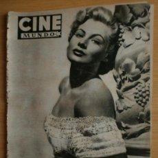 Cine: CINE MUNDO Nº82.1953.GRETA GARBO,J.NIETO,G.LOLLOBRIGIDA,G.PECK,J.JAMAGUSCHI,M.MONROE,L.LUCIA,. Lote 36267478