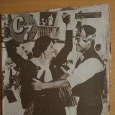 Cine: CINE EN 7 DIAS Nº186.1964.V.PARRA Y I.EORY,E.CONSTANTINE,T.PERKINS,S.PINAL,S.INFANTE,D.DEL RIO.. Lote 36268664
