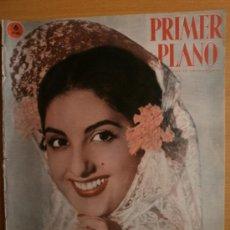 Cine: PRIMER PLANO Nº1065.1961.D. ABRIL,M.DIAZ,L.FLORES,F.RABAL,C.GABLE,M.MONROE,S.LOREN,E.TAYLOR,A.EKBERG. Lote 36283544