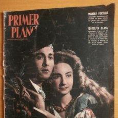 Cine: PRIMER PLANO Nº721.1954.M.FORTUNA,I.OLAYA,C.SEVILLA,L.FLORES,R.RICO,J.REINA,J.VALDERRAMA,J.ABELLAN.. Lote 36283596