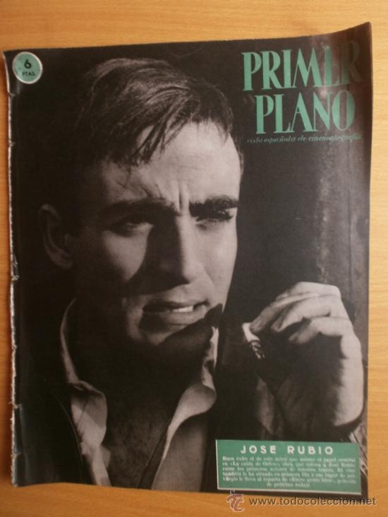 PRIMER PLANO Nº1069.1958.J.RUBIO,CANTINFLAS,M.HOLD,E.QUINTILLA,Y.BASTEIN,E.TAYLOR,P.MCGOOHAN,M.BRAND (Cine - Revistas - Primer plano)