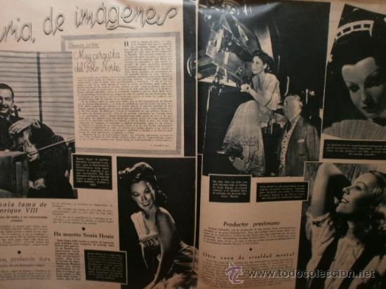 Cine: PRIMER PLANO Nº176.1944.CELIA GAMEZ,R.RIVELLES,H.LAMARR,C.MONTES,I.DUNNE,G.SIMMS,M.FRESNO,X.CUGAT. - Foto 7 - 36285333