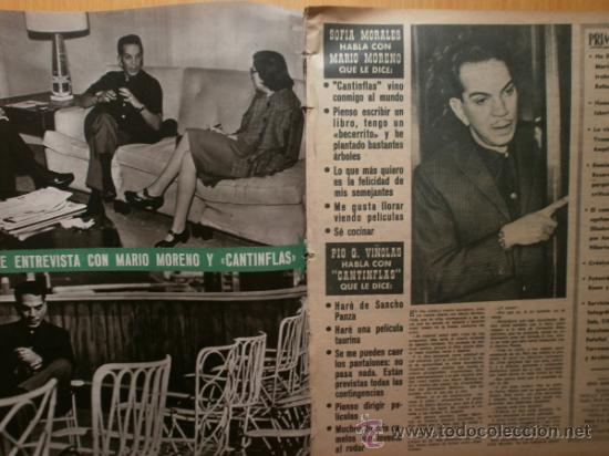 Cine: PRIMER PLANO Nº1069.1958.J.RUBIO,CANTINFLAS,M.HOLD,E.QUINTILLA,Y.BASTEIN,E.TAYLOR,P.McGOOHAN,M.BRAND - Foto 2 - 36285507