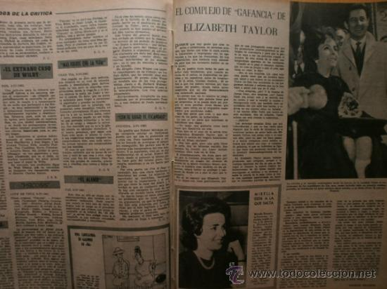Cine: PRIMER PLANO Nº1069.1958.J.RUBIO,CANTINFLAS,M.HOLD,E.QUINTILLA,Y.BASTEIN,E.TAYLOR,P.McGOOHAN,M.BRAND - Foto 7 - 36285507