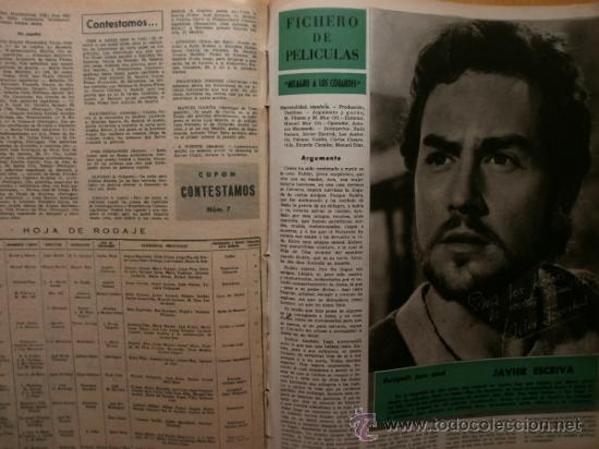 Cine: PRIMER PLANO Nº1069.1958.J.RUBIO,CANTINFLAS,M.HOLD,E.QUINTILLA,Y.BASTEIN,E.TAYLOR,P.McGOOHAN,M.BRAND - Foto 12 - 36285507