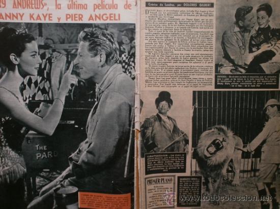 Cine: PRIMER PLANO Nº932.1958.G.DE TRIANA,P.ANGELI,D.KAYE,K.DOUGLAS,I.BERGMAN,J.COLLINS,B.BARDOT,G.GARBO. - Foto 2 - 36283734