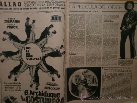 Cine: PRIMER PLANO Nº932.1958.G.DE TRIANA,P.ANGELI,D.KAYE,K.DOUGLAS,I.BERGMAN,J.COLLINS,B.BARDOT,G.GARBO. - Foto 3 - 36283734