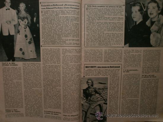 Cine: PRIMER PLANO Nº932.1958.G.DE TRIANA,P.ANGELI,D.KAYE,K.DOUGLAS,I.BERGMAN,J.COLLINS,B.BARDOT,G.GARBO. - Foto 4 - 36283734