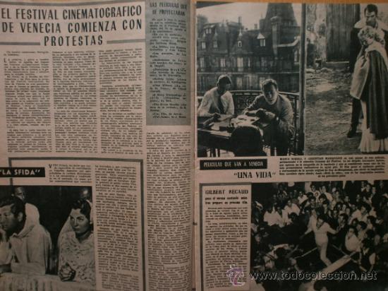 Cine: PRIMER PLANO Nº932.1958.G.DE TRIANA,P.ANGELI,D.KAYE,K.DOUGLAS,I.BERGMAN,J.COLLINS,B.BARDOT,G.GARBO. - Foto 5 - 36283734
