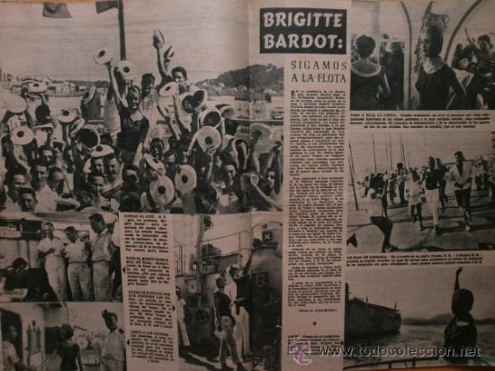 Cine: PRIMER PLANO Nº932.1958.G.DE TRIANA,P.ANGELI,D.KAYE,K.DOUGLAS,I.BERGMAN,J.COLLINS,B.BARDOT,G.GARBO. - Foto 8 - 36283734
