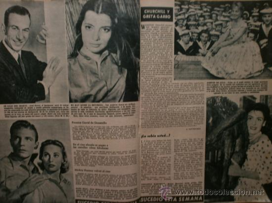 Cine: PRIMER PLANO Nº932.1958.G.DE TRIANA,P.ANGELI,D.KAYE,K.DOUGLAS,I.BERGMAN,J.COLLINS,B.BARDOT,G.GARBO. - Foto 9 - 36283734