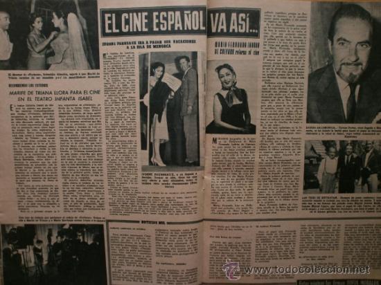Cine: PRIMER PLANO Nº932.1958.G.DE TRIANA,P.ANGELI,D.KAYE,K.DOUGLAS,I.BERGMAN,J.COLLINS,B.BARDOT,G.GARBO. - Foto 11 - 36283734