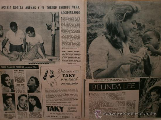 Cine: PRIMER PLANO Nº932.1958.G.DE TRIANA,P.ANGELI,D.KAYE,K.DOUGLAS,I.BERGMAN,J.COLLINS,B.BARDOT,G.GARBO. - Foto 12 - 36283734