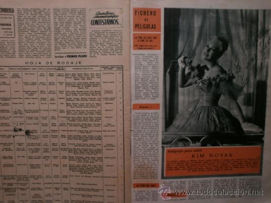 Cine: PRIMER PLANO Nº932.1958.G.DE TRIANA,P.ANGELI,D.KAYE,K.DOUGLAS,I.BERGMAN,J.COLLINS,B.BARDOT,G.GARBO. - Foto 13 - 36283734