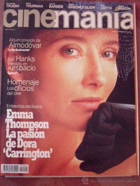 CINEMANÍA Nº 1. OCTUBRE 1995 (Cine - Revistas - Cinemanía)