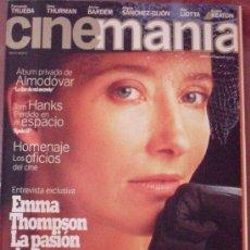 Cine: CINEMANÍA Nº 1. OCTUBRE 1995. Lote 53408416