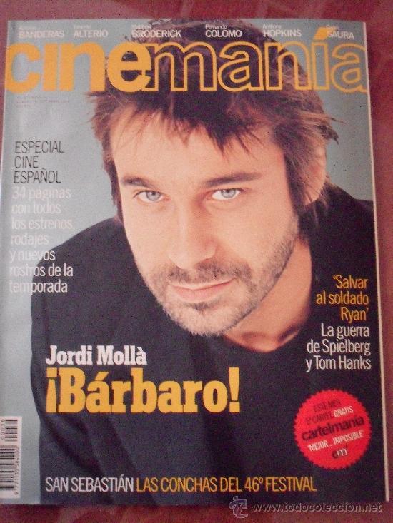 CINEMANÍA Nº 36. SEPTIEMBRE 1998 (Cine - Revistas - Cinemanía)