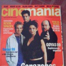 Cine: CINEMANÍA Nº 53. FEBRERO 2000. Lote 36355908