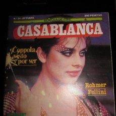 Cine: CASABLANCA Nº34-OCTUBRE ROHMER FELLINI-COPPOLA-CINE ESPAÑOL. Lote 36367632