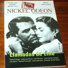 Cine: REVISTA DE CINE NICKEL ODEON Nº32 OTOÑO 2003: LLAMADAS DE CINE. Lote 36410577