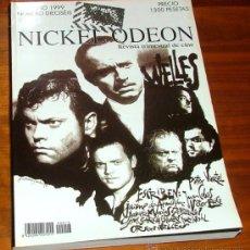 Cine: REVISTA DE CINE NICKEL ODEON Nº16 OTOÑO 1999: ORSON WELLES. Lote 50420451