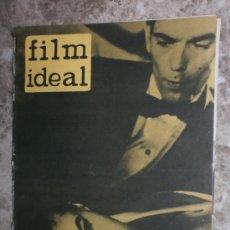 Cine: FILM IDEAL Nº115. AÑO 1963. MARISOL, BERGMAN, ADOLFO MARSILLACH,JOSE LUIS VILORIA.. Lote 36504636