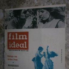 Cine: FILM IDEAL Nº106.1962.A.PENN,P.NEWMAN,P.KARLSON,PAYNE,KUBRICK,LANG,LOGAN,SULLIVAN,S.MONTIEL.S.LOREN.. Lote 36512785
