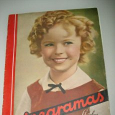 Cine: ANTIGUA REVISTA CINEGRAMAS CON SHIRLEY TEMPLE Nº 82 DE 1936.. Lote 36650060