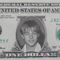 Cine: DOLAR SOURVENIR 1$ LEONARDO DICAPRIO AÑO 1998. Lote 73423393