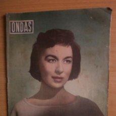 Cine: ONDAS Nº117.1957.AURORA BAUTISTA,R.FORNES,E.ADMETLLA,C.SILVA,Mª.A.SOTO,M.ALONSO,L.FLORES,A.CASAL.. Lote 36568687