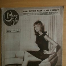 Cine: CINE EN 7 DIAS Nº238.1965.ANN MORRELL,C.GONZALEZ,A.CASTOR,M.MERIL,U.ANDRESS,LOS SINATRA,MARISOL.. Lote 36571581