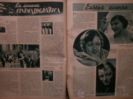 Cine: CINEGRAMAS Nº41.1935.MADELEINE CARROLL,M.CURTIS,V.HEPBURN,C.RODRIGUEZ,J.MURAT,R.CORTEZ,R.VALENTINO. - Foto 6 - 36568524