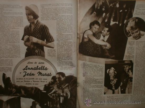 Cine: CINEGRAMAS Nº41.1935.MADELEINE CARROLL,M.CURTIS,V.HEPBURN,C.RODRIGUEZ,J.MURAT,R.CORTEZ,R.VALENTINO. - Foto 8 - 36568524