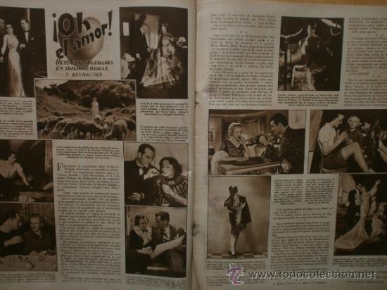 Cine: CINEGRAMAS Nº41.1935.MADELEINE CARROLL,M.CURTIS,V.HEPBURN,C.RODRIGUEZ,J.MURAT,R.CORTEZ,R.VALENTINO. - Foto 9 - 36568524