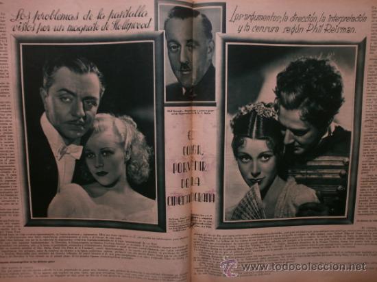 Cine: CINEGRAMAS Nº41.1935.MADELEINE CARROLL,M.CURTIS,V.HEPBURN,C.RODRIGUEZ,J.MURAT,R.CORTEZ,R.VALENTINO. - Foto 11 - 36568524
