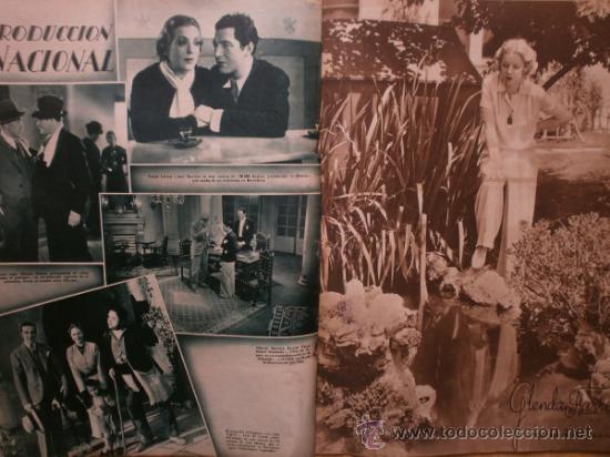 Cine: CINEGRAMAS Nº41.1935.MADELEINE CARROLL,M.CURTIS,V.HEPBURN,C.RODRIGUEZ,J.MURAT,R.CORTEZ,R.VALENTINO. - Foto 12 - 36568524