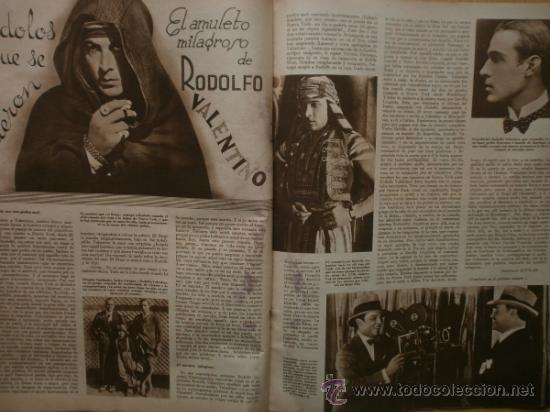 Cine: CINEGRAMAS Nº41.1935.MADELEINE CARROLL,M.CURTIS,V.HEPBURN,C.RODRIGUEZ,J.MURAT,R.CORTEZ,R.VALENTINO. - Foto 14 - 36568524