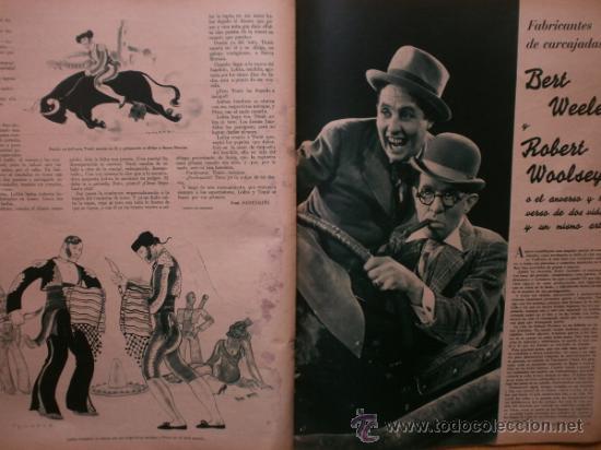 Cine: CINEGRAMAS Nº41.1935.MADELEINE CARROLL,M.CURTIS,V.HEPBURN,C.RODRIGUEZ,J.MURAT,R.CORTEZ,R.VALENTINO. - Foto 15 - 36568524