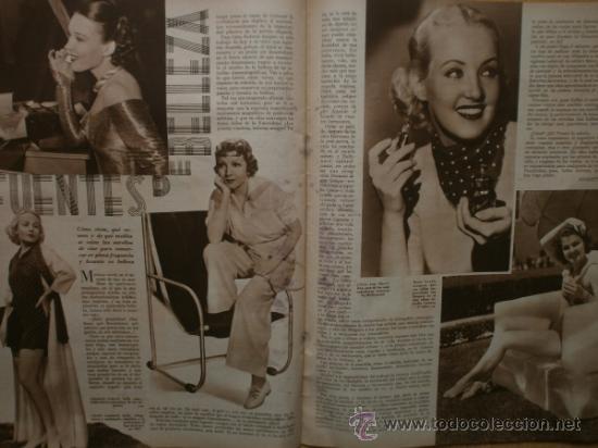 Cine: CINEGRAMAS Nº41.1935.MADELEINE CARROLL,M.CURTIS,V.HEPBURN,C.RODRIGUEZ,J.MURAT,R.CORTEZ,R.VALENTINO. - Foto 17 - 36568524