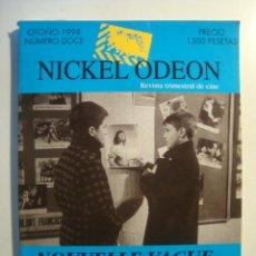Cine: REVISTA CINE - NICKEL ODEON Nº 12, 1998. ESPECIAL NOUVELLE VAGUE. FOTOS COLOR. 200 PÁG.. Lote 36640183
