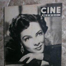 Cine: CINE MUNDO Nº87.1953.GRACE MOORE,T.MOORE,M.OBERON,P.RICO,K.KENDALL,J.SIMMONS,B.LANCASTER,P.WYMORE.. Lote 36686579