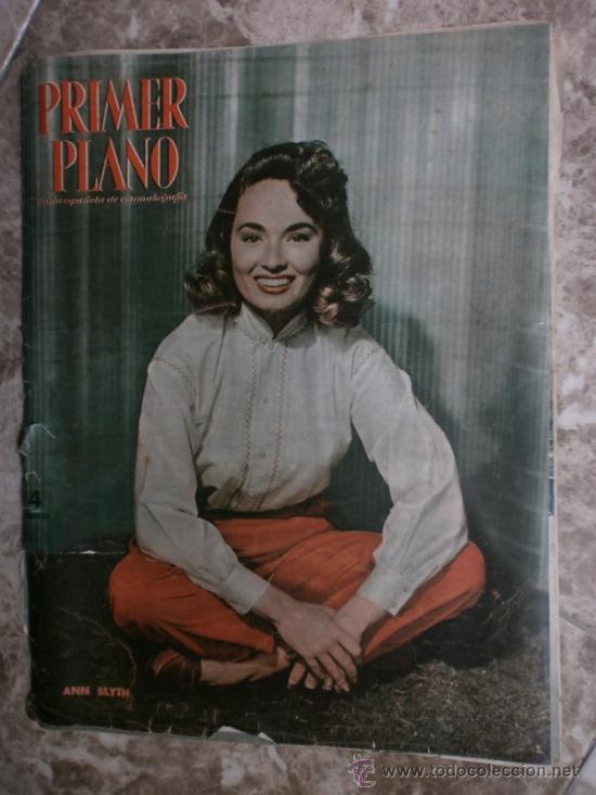 PRIMER PLANO Nº580.1951.ANN BLYTH,C.GRANT,P.RICO,C.SEVILLA,S.BLANCO,P.NIETO,L.PALMER,TURNER,SINATRA. (Cine - Revistas - Primer plano)