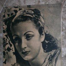 Cine: PRIMER PLANO Nº106.1942.DANIELLE DARRIEUX,J.BAKER,A.MAYO,D.DARRIEUX,P.RUBIROSA,V.GIOI,R.CANCIO,CASAL. Lote 36690518