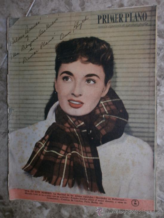 PRIMER PLANO Nº456.1949.ANN BLYTH,R.CLAIR,O.WELLES,M.DIETRICH,P.VALESKA,L.TAYLOR,T.POWER,ESMERALDA. (Cine - Revistas - Primer plano)