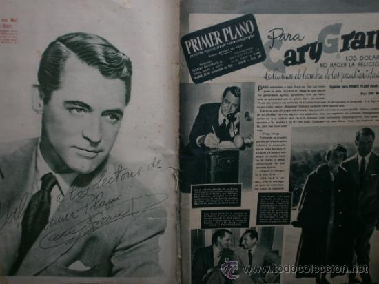 Cine: PRIMER PLANO Nº580.1951.ANN BLYTH,C.GRANT,P.RICO,C.SEVILLA,S.BLANCO,P.NIETO,L.PALMER,TURNER,SINATRA. - Foto 2 - 36690265