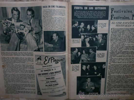 Cine: PRIMER PLANO Nº580.1951.ANN BLYTH,C.GRANT,P.RICO,C.SEVILLA,S.BLANCO,P.NIETO,L.PALMER,TURNER,SINATRA. - Foto 3 - 36690265