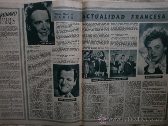 Cine: PRIMER PLANO Nº580.1951.ANN BLYTH,C.GRANT,P.RICO,C.SEVILLA,S.BLANCO,P.NIETO,L.PALMER,TURNER,SINATRA. - Foto 8 - 36690265